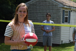 Eighth Grader Serves Up Smiles with Volleyball Court Donation to Local School