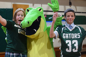 Students Spark School Spirit at RCDS Pep Rally