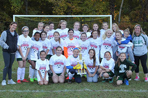 Girls Soccer Team Crowned Champions for Second Year in a Row