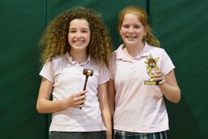 RCDS Debate Team Continues Streak of Success – Student Takes Home Golden Gavel Award