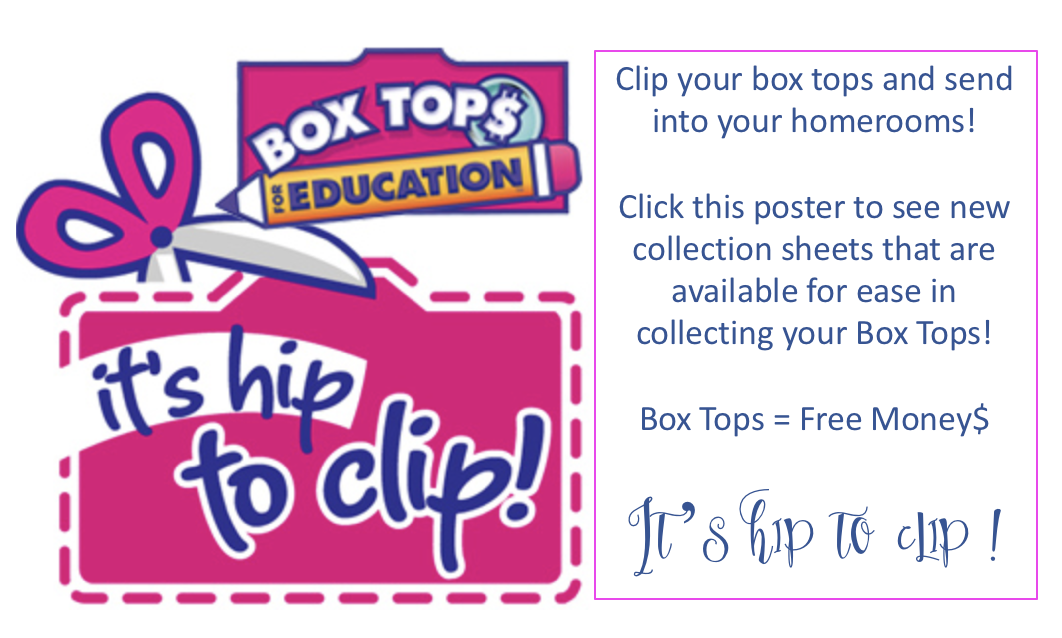 photograph regarding Printable Box Tops Collection Sheets titled Box Tops - The Rumson Place Working day College or university